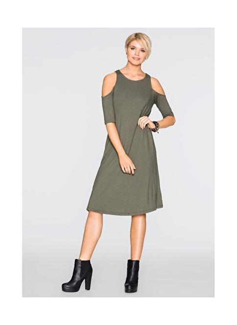 Bonprix Express Elbise Yeşil